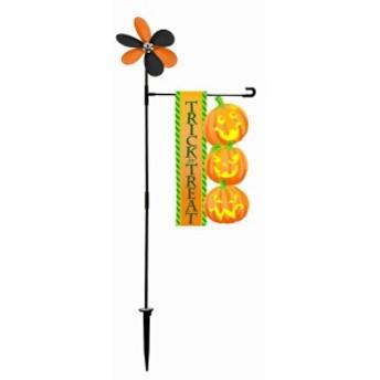 3連パンプキンフラッグ HW-1507 友愛玩具 ハロウィン 装飾