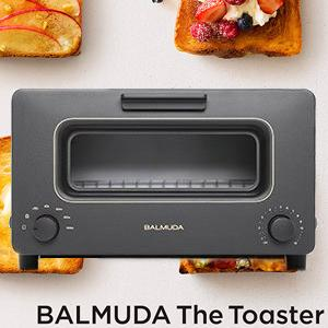 BALMUDA-百慕達 The Toaster 蒸氣烤麵包機(黑)K01D-KG