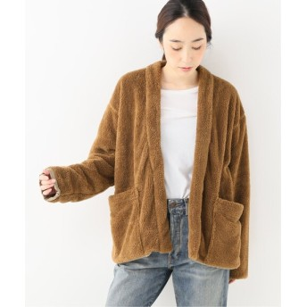 journal standard luxe 【ts(s) /ティーエスエス】 Fleece Jersey Easy Cardigan カーキ 2
