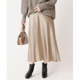 JOURNAL STANDARD L'ESSAGE フレアマキシスカート◆ ブラウン B 38