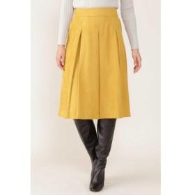 [マルイ]【セール】エルモザスエードボックスプリーツスカート/ナチュラルビューティー(NATURAL BEAUTY)