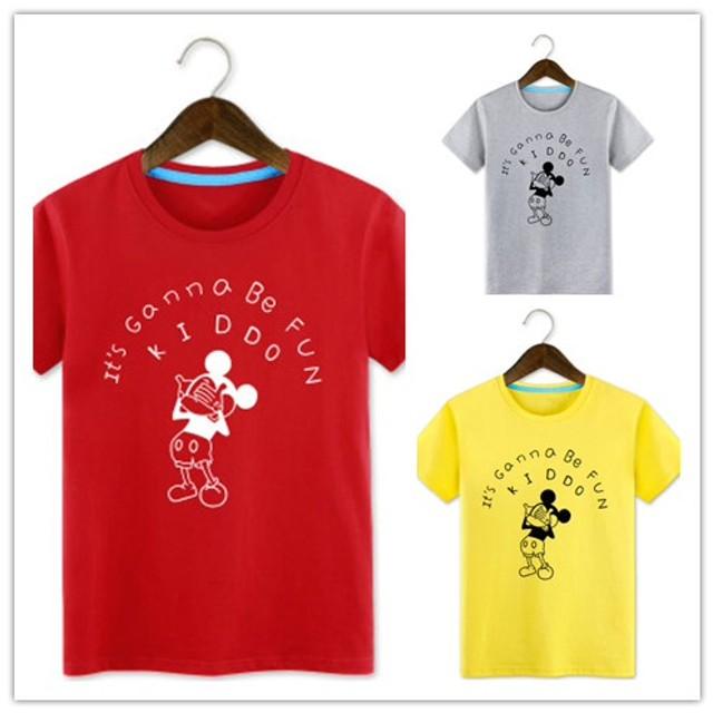 2020新品1月新作セール中 綿100% ミッキーTシャツ可愛いミニプリント★ペアルックカップルtシャツ ミッキー Tシャツ ディズニー Tシャツ 半袖 レディース メンズ