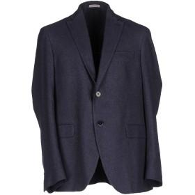 《期間限定セール開催中!》ANGELO NARDELLI メンズ テーラードジャケット ブルーグレー 46 コットン 100%