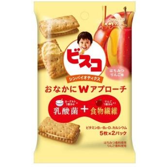 江崎グリコ ビスコ シンバイオティクスはちみつりんご味 1個