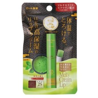 ロート製薬 メンソレータム メルティクリームリップ 抹茶 2.4g