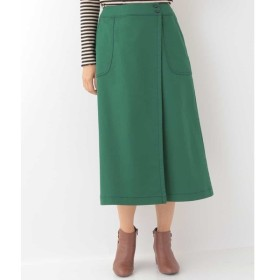 [マルイ]【セール】ダブルクロスボトム ラップデザインスカート/ホコモモラ(JOCOMOMOLA)