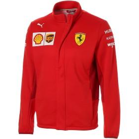 【プーマ公式通販】 プーマ フェラーリ SF チーム ソフトシェル ジャケット メンズ Rosso Corsa-without MW Logo  PUMA.com