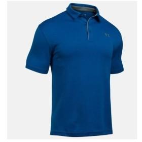 アンダーアーマー UNDER ARMOR メンズ ゴルフ ポロシャツ UA テック ポロ 1290140 400 RYL/GPH