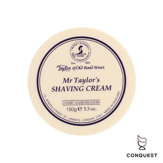 【 CONQUEST 】Taylor of Old Bond Street Mr Taylor 泰勒刮鬍膏 刮鬍皂 刮鬍泡 清新草本香