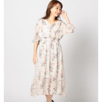 【ミューズ リファインド クローズ/MEW'S REFINED CLOTHES】 花柄Vワンピース