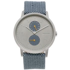 【送料無料】【返品OK】スカーゲン 時計 SKAGEN SKW6524 KRISTOFFER クリストファー メッシュベルト リサイクルウーブン 42MM メンズ腕時計 ウォッチ ブルー/シルバー