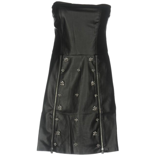 《セール開催中》LIU JO レディース ミニワンピース&ドレス ブラック 44 ポリエステル 100%
