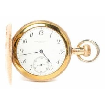 訳あり パテックフィリップ 懐中時計 ポケットウォッチ k14社外ケース 手巻き 35848 メンズ PATEK PHILIPPE 中古