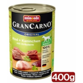 アニモンダ ドッグ グランカルノ ミックス 牛肉・ウサギ・パセリ 400g 正規品 お一人様4点限り ドッグフード