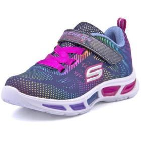 SKECHERS スケッチャーズ S LITES-LITEBEAMS-GLEAM N DREAM【光る靴】 キッズスニーカー(Sライツライトビームスグリーミンドリーム) 10959N NVMT ネイビー/マルチ ファースト/ベビー