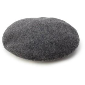 イッツデモ リブ付きベレー帽 レディース チャコールグレー(014) 00 【ITS' DEMO】