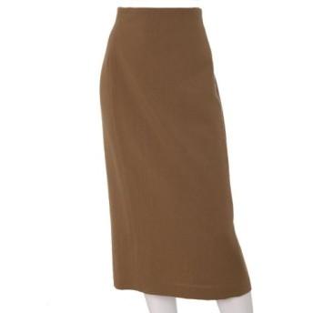 (INED(L SIZE)/イネド(Lサイズ))《大きいサイズ》ロングタイトスカート《Karl Karl》/レディース カーキ3 送料無料