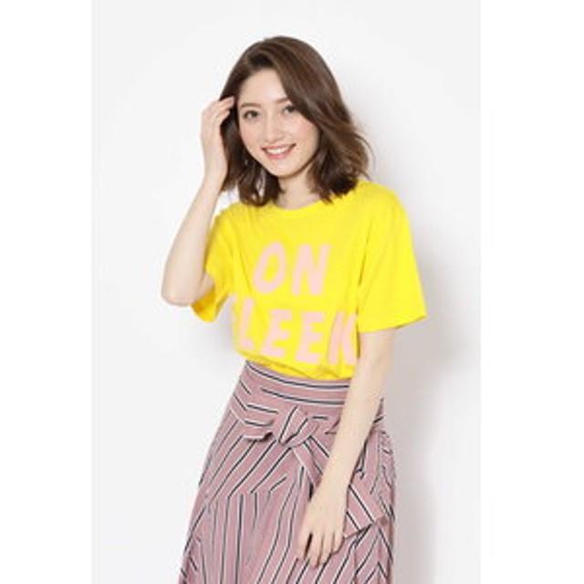 【ROSEBUD:トップス】ビッグロゴTシャツ