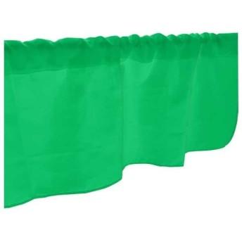 カフェカーテン 緑 DIC2558 800×450mm 41736