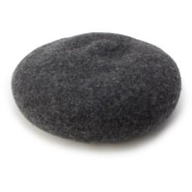 イッツデモ シンプルベレー帽 レディース チャコールグレー(014) 00 【ITS' DEMO】