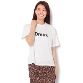 【テチチ/Te chichi】 フロッキープリントTシャツ