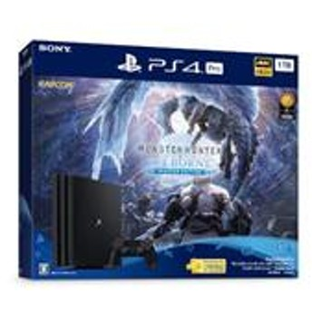 """【PS4】 プレイステーション4 Pro本体 """"モンスターハンターワールド:アイスボーン マスターエディション"""" Starter Pack (HDD:1TB) CUHJ-10032"""