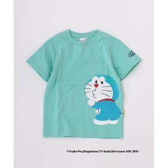 シップス キッズ SHIPS KIDS: TEE<月面探査記>(80~90cm) レディース ライトブルー 80 【SHIPS KIDS】