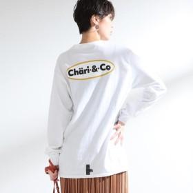 [マルイ] Chari&Co × Ray BEAMS / 別注 ロゴ ロングスリーブ Tシャツ/レイ ビームス(Ray BEAMS)