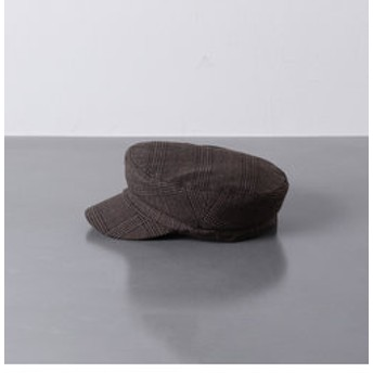 【UNITED ARROWS:帽子】UWSC グレンチェック マリン キャップ
