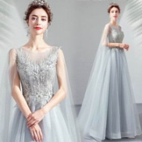 イブニングドレス レディース 素敵な パーティードレス エレガンス ノースリーブ お色直し ウエディングドレス ロングドレス 披