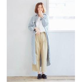 【Lee:パンツ】クロップド トラウザー