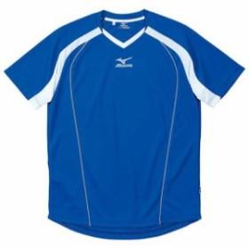 プラクティスシャツ(24ブルー)【MIZUNO】ミズノフットボール/サッカー ウエア プラクティスシャツ(p2ja408724)