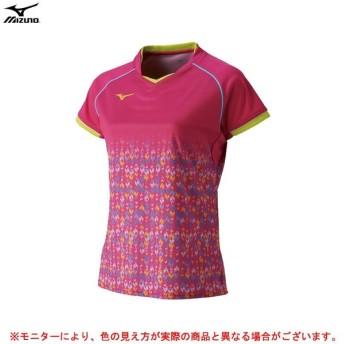 MIZUNO(ミズノ)ゲームシャツ(72MA8206)テニス バドミントン スポーツ トレーニング 半袖 レディース