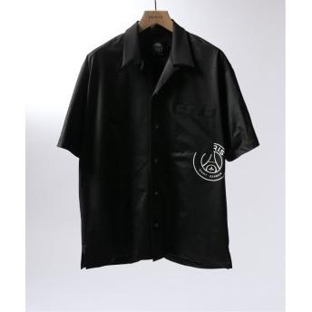 エディフィス Paris Saint Germain TOKYO / パリサンジェルマン EMBLEM OP S/S メンズ ブラック S 【EDIFICE】