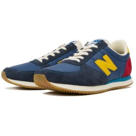 ニューバランス NEW BALANCE U220 スニーカー [サイズ:24.0cm(D)] [カラー:ブルー×レッド] #U220HG