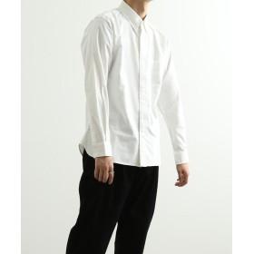 アダムエロペ OXBDガゼットシャツ メンズ ホワイト(10) M 【ADAM ET ROPE'】