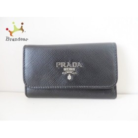 プラダ PRADA キーケース - 黒 6連フック レザー  値下げ 20191013
