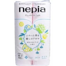 ネピア プレミアムソフト トイレットペーパーダブル ボタニカルブーケの香り 12ロール ×2