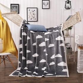 毛布 ブランケット 寝具 インテリア 冷房対策 200×230cm-P787