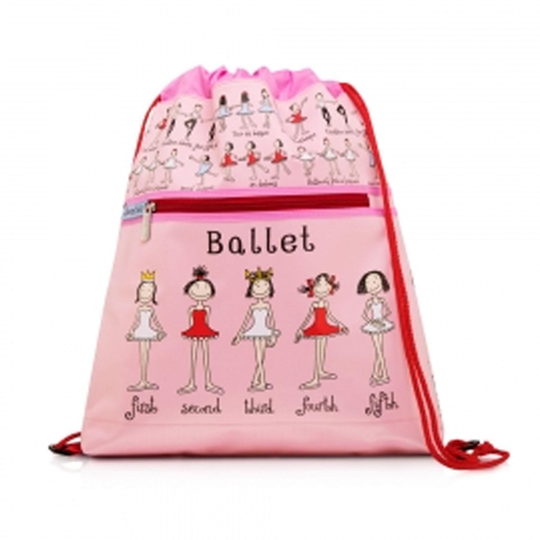 Tyrrell Katz - 兒童時尚後背袋-芭蕾舞蹈-3歲以上