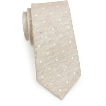 bows-n-tiesメンズネクタイ夏リネンパステルスキニーマットTie 2.75インチ カラー: ブラウン