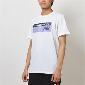 (NB公式)【ログイン購入で最大8%ポイント還元】 メンズ NBアスレチックバナーTシャツ (パープル) ライフスタイル ウェア / トップス ニューバランス newbalance