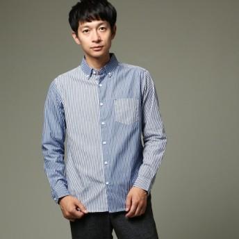 [マルイ]【セール】ストライプ切り替えボタンダウンシャツ/ザ ショップ ティーケー(メンズ)(THE SHOP TK Mens)