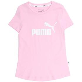 《期間限定 セール開催中》PUMA ガールズ 9-16 歳 T シャツ ピンク 10 コットン 100% ESS Tee G