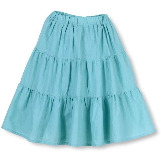 [ラッドチャップ] ティアードスカート 120cm サックス
