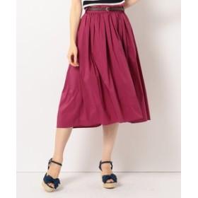 【Feroux:スカート】【洗える】T/Cフィッシュテール スカート