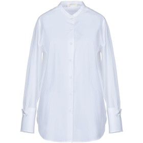 《期間限定セール開催中!》GLANSHIRT レディース シャツ ホワイト 40 コットン 100%