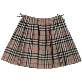 《9/20まで! 限定セール開催中》BURBERRY ガールズ 3-8 歳 スカート キャメル 3 コットン 100%