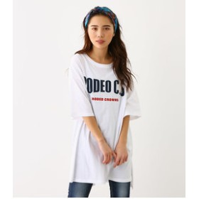 【Rodeo Crowns/RODEO CROWNS WIDE BOWL:ワンピース】WARP ロゴ Tシャツ ワンピース