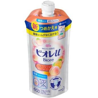 花王 ビオレU スイートピーチ詰替 340ml 3個セット